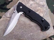 CRKT Hammond Cruiser Folding Knife Linerlock AUS-6M LAWKS Black Serrrated 7914