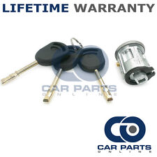 Para Ford Fiesta 1996-2002 ignición de interruptor de bloqueo Barril Incluye 3 Llaves