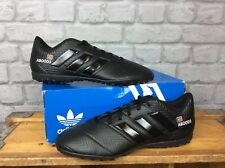ADIDAS MENS UK 8 EU 42 NEMEZIZ 18.4 FG BLACK FOOTBALL BOOTS PERSONALISED