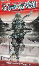 Force of Will FOW TCG A4 Arla, Guardian of the Skies ORIGINAL WALL BANNER NEW