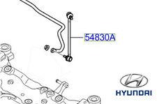 Genuine Hyundai i30 Front Anti Roll Bar Drop Link - 548302H200