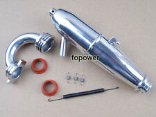 RC Alum Upgrade Exhaust 081009 Pipe & Spring Fit HSP 1:8 Nitro Buggy Part BQ004