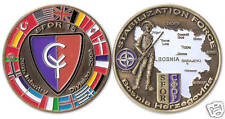 SFOR 15 Bosnia® Nations Coin peacekeeping mission