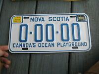1974 74 1975 75 NOVA SCOTIA NS CANADA CANADIAN SAMPLE LICENSE PLATE ALL ORIGINAL