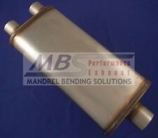 "muffler Full Boar Max Flow SS 2.25/"" IN//OUT MF1265"