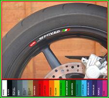 APRILIA SHIVER Wheel Rim Decals Stickers - 750 gt abs 1000