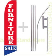 FURNITURE SALE - Swooper Flag 15' Kit Feather Flutter Tall Banner Sign - rb