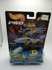 1998 Hot Wheels Pro Racing Pit Crew Ted Musgrave Primestar 1:64 Ford + Tool Box