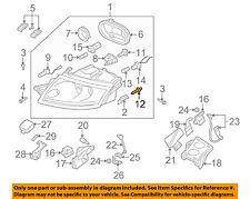 AUDI OEM 96-04 A6 Quattro-Headlight Headlamp Bulb N0177612