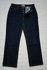 Ladies Size 11 Straight Leg, High Waist, button fly denim jeans - Jeanswest