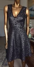 SANDRO SPARKLING SEQUINED DRESS,CHRISTMAS PARTY DRESS,US 2,UK 10/8