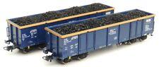 Roco 76086 - 2er Set Offene Güterwagen, CTL, PKP, ZSSK, Neu & Ovp.