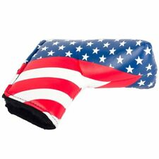 USA Flag Golf Putter Cover Headcover For Taylormade Scotty Cameron Odyssey Blade