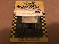 VTG K&B Model Rama Pit Stop Slot Car Brass Motor Mount # 1101 NOS