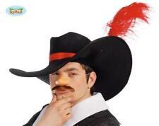 Cappello Moschettiere Uomo Travestimento Carnevale