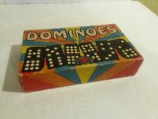 Dominoes Double Nine Halsam 920 K vintage
