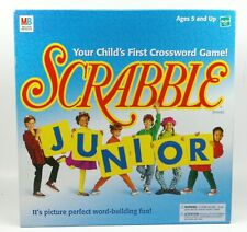Scrabble Junior Ages 5+ By Milton Bradley Hasbro Crossword 1999 Complete Game