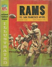 Official Game Day Program Los Angeles Rams vs San Francisco 49ers Oct. 18, 1964