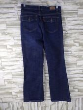 WOMENS LEVIS 512 PERFECTLY SLIMMING BOOTCUT MED WASH  JEANS SIZE 8 SHORT  #CB-12