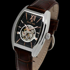 LOUIS BOLLE RAMSES II MENS 21J AUTOMATIC WATCH NEW BLK