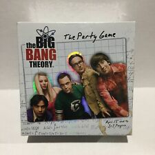 THE BIG BANG THEORY THE PARTY GAME AGES 15 AND UP 3-7 PLAYERS CRYPTOZOIC