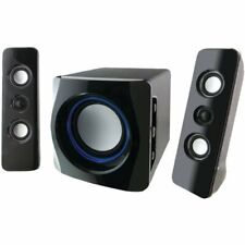 iLive Wireless Speaker System w/ Subwoofer Bluetooth Wireless LED Light Effect
