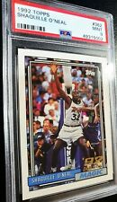 SHAQUILLE O'NEAL SHAQ 1992 TOPPS #362 ROOKIE RC PSA 9+ FLAWLESS/NR *PACK FRESH*