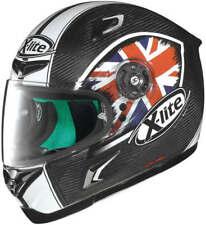 X-LITE X802RR STAREUS UK 006 M'CYCLE HELMET - SMALL + VISOR *SAVE £200*