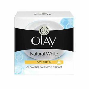 OLAY FACE Whitening NIGHT Cream Natural White Skin 50gm