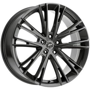 "Platinum 458GN Prophecy 18x8 5x4.5"" +40mm Gunmetal Wheel Rim 18"" Inch"