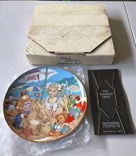 rare Franklin Mint Sand Castles Ltd Ed. 1990 Carol Lawson vtg collector plate