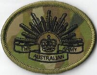 Army Australian Multicam Camouflage Uniform AMCU Rising Sun Patch
