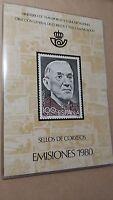 1980 LIBRO OFICIAL DE CORREOS  ESPAÑA ** COMPLETO **  OFERTA  ESPECIAL Y ÚNICA