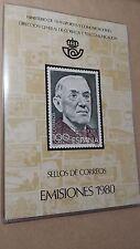 LIBRO OFICIAL DE CORREOS 1980 ESPAÑA COMPLETO** SUPER OFERTA ÚNICA Y ESPECIAL