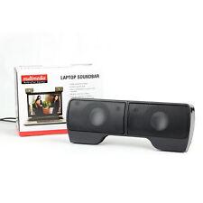 10X Protable External Laptop Hanging Speaker Stereo Music Player for Notebo