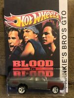 PREMIUM CUSTOM HOT WHEELS GTO Blood In Blood Out REAL RIDERS custom Card