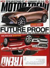 Motor Trend Magazine March 2018 Future Proof Lexus, Ram, Jaguar, Volvo and more