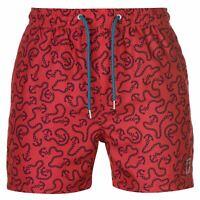 Pierre Cardin Mens AOP Swim Shorts Pants Trousers Bottoms Lightweight Mesh Quick