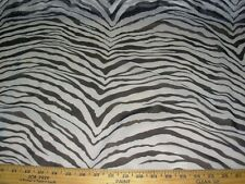 "~Bty~Sheer Chiffon ""Tiger Zebra Stripes""~Drapery Multi Purpose Fabric For Less~"