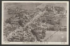 Postcard Christchurch nr Bournemouth Dorset aerial view of High Street early RP