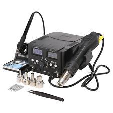 Digitale SMD 2 in 1 70W con Pistola ad Aria Calda 750W Kit Saldatore Elettronico