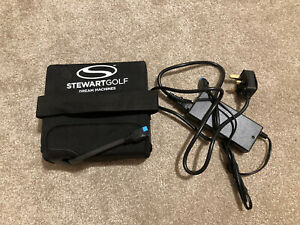 STEWART GOLF 18 HOLE LITHIUM BATTERY AND CHARGER