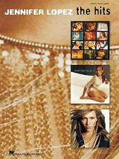 """JENNIFER LOPEZ-THE HITS"" PIANO/VOCAL/GUITAR MUSIC BOOK-BRAND NEW ON SALE!!"