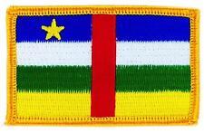Patch écusson brodé Drapeau REPUBLIQUE CENTRAFRICAINE CENTRAFRIQUE