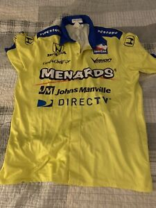 Ed Carpenter Vision Racing Menards Crew Shirt Size Large