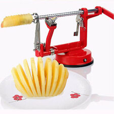 New Handle 3 in 1 Apple Pear Potato Peeler Corer Slicer Fruit Kitchen Cutter