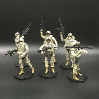 6pcs 1/18 US 101st Airborne Division Soldiers Models Action Figure Toy