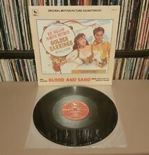 GOLDEN EARRINGS/BLOOD & SAND Original Soundtracks Vinyl L.P *RARE 1982 US PRESS*