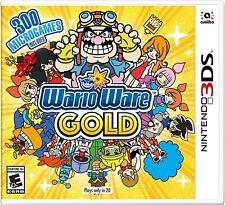 New! WarioWare Gold Nintendo 3DS Free Shipping Action Mario Mini Games #$