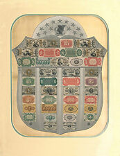 """Fractional Currency Shield high quality Photographic Poster 17""""x22"""" Looks REAL!!"""
